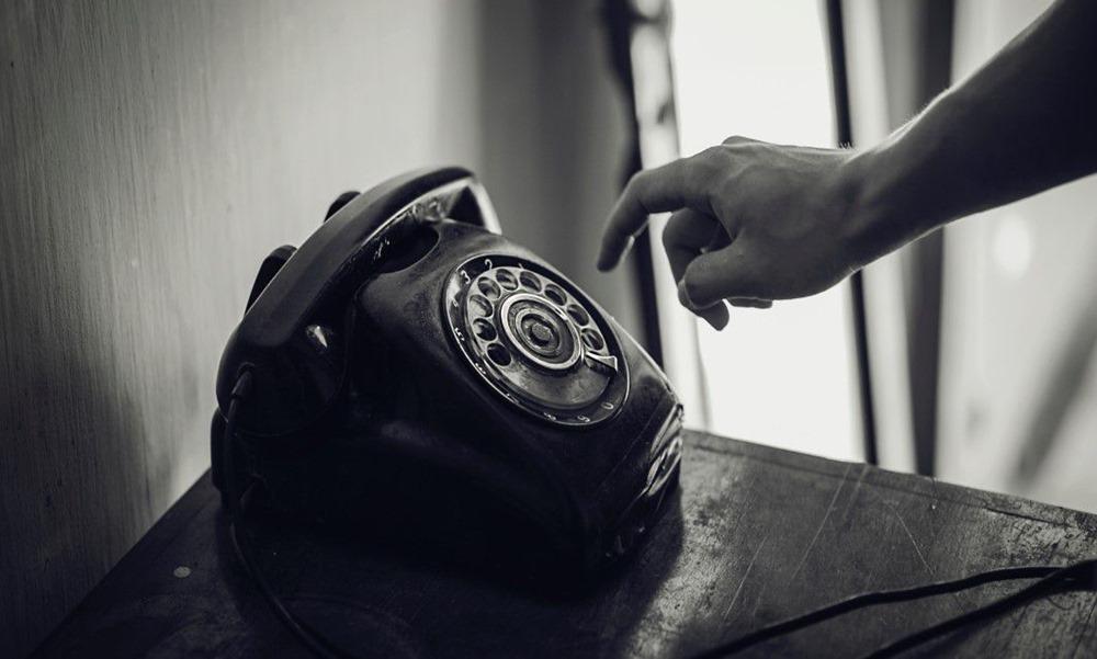 Teléfono antiguo de Euskaltel