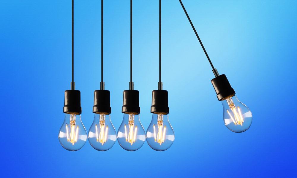 Bombillas LED que dan Internet