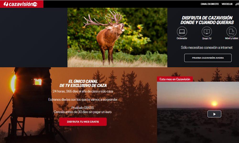 Esta es la web de Cazavisión