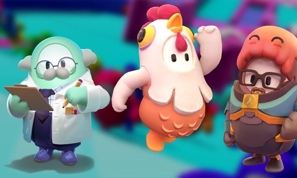Algunos de los personajes de Fall Guys
