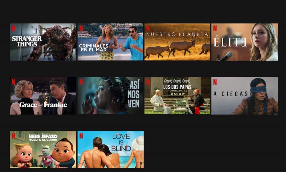Contenidos gratuitos de Netflix