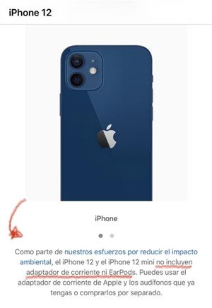 La polémica del cargador de iPhone 12