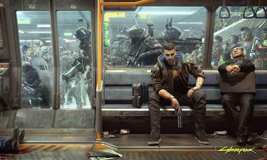 La ambientación futurista de Cyberpunk 2077