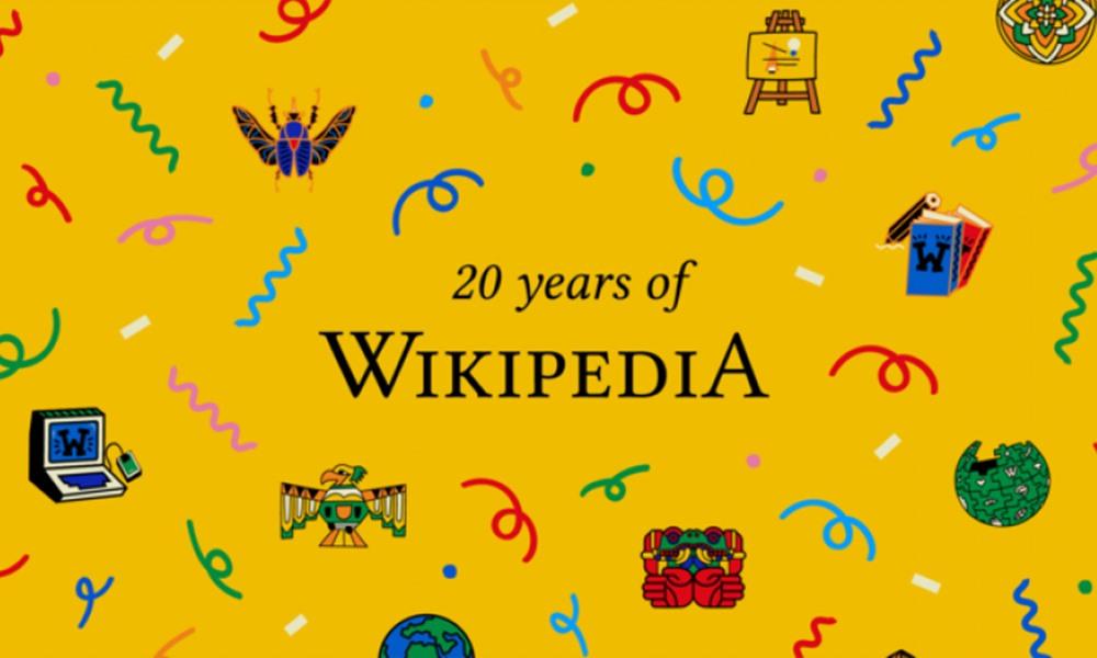 La Wikipedia cumple 20 años