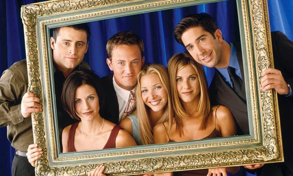 El elenco original de Friends